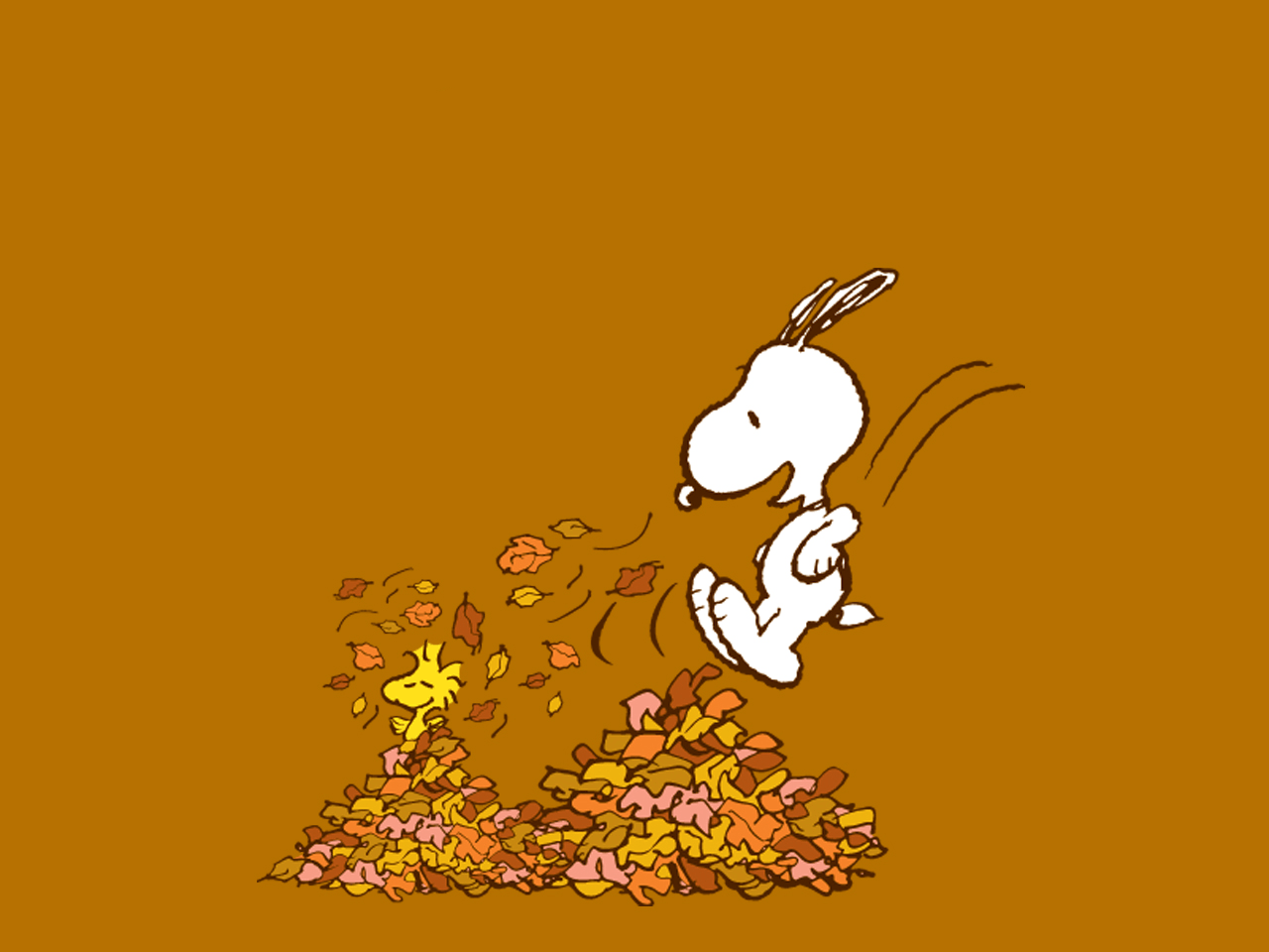 Snoopy Thanksgiving Wallpapers - Wallpaper Cave