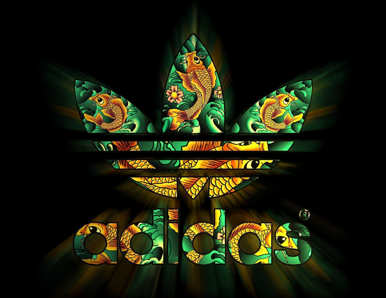 Adidas logo wallpapers wallpaper cave for Immagini graffiti hd