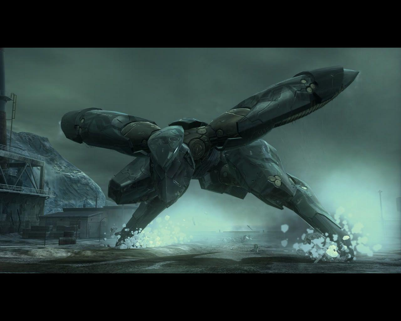 MGS 4 Wallpapers