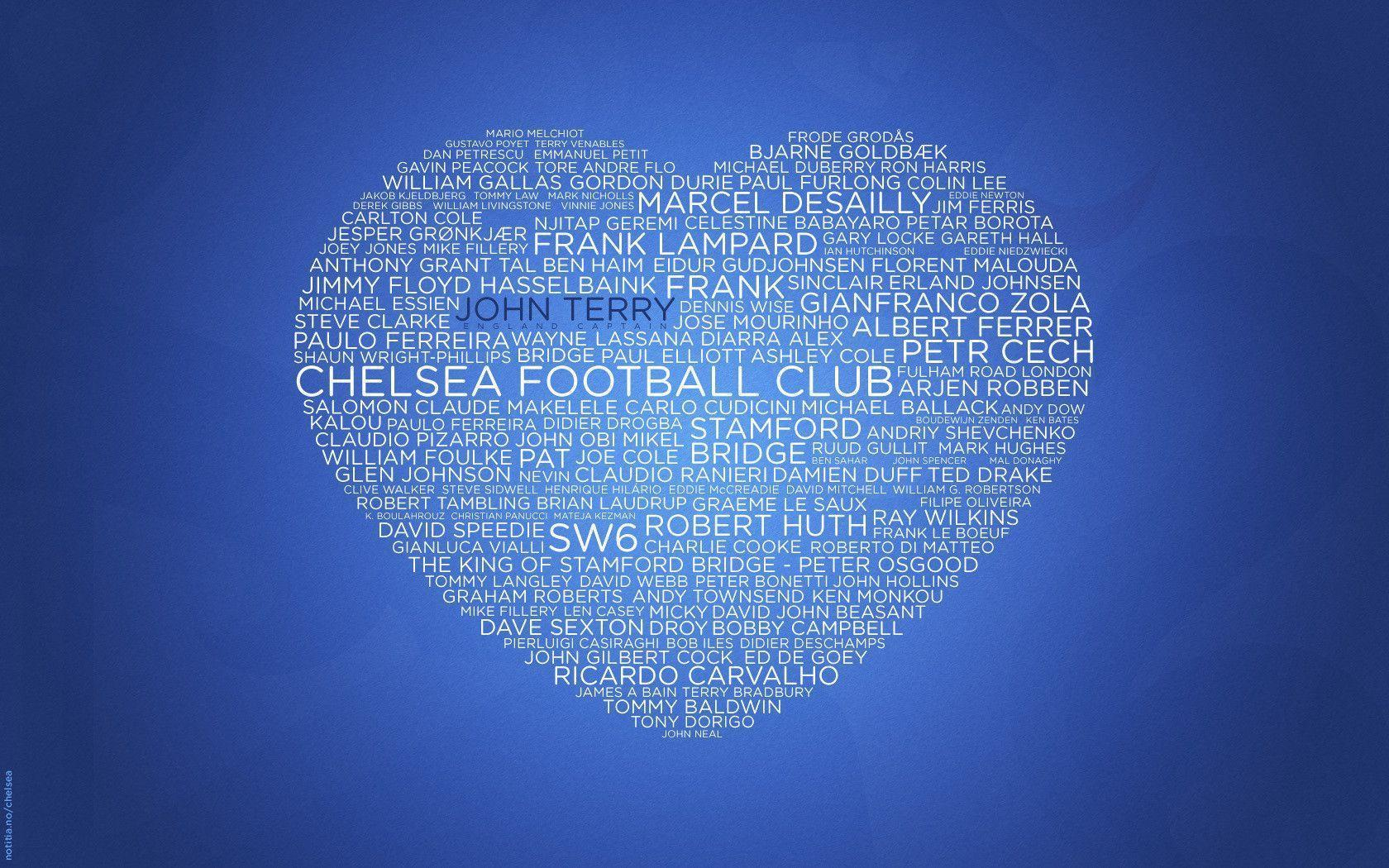 Chelsea Football Club Logo Wallpaper Download #8644 Wallpaper ...