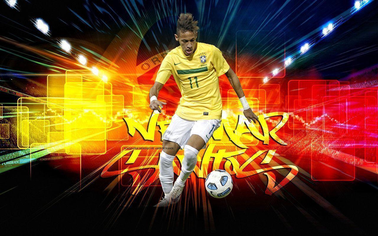 Neymar Brazil Wallpaper Background  Wallpaper Awshdwallpapers