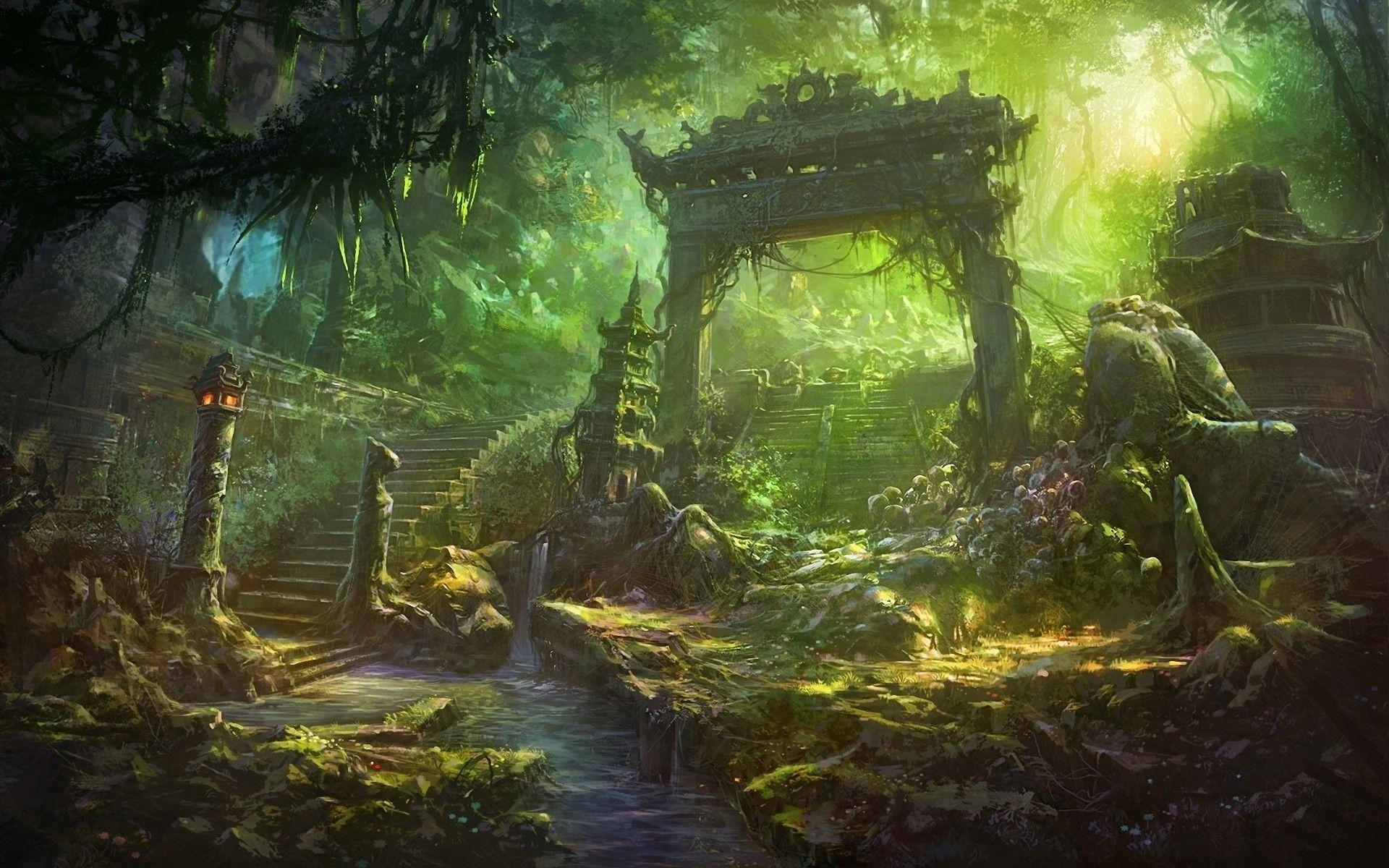 temple japan landscape wallpaper - photo #35