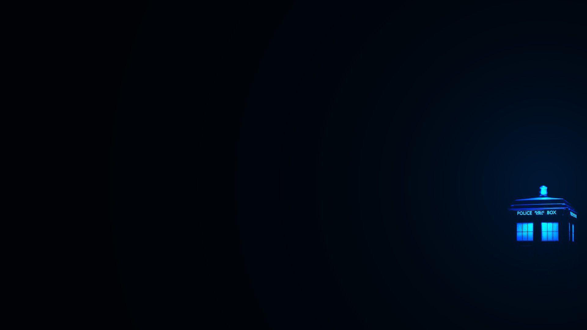 FeedForward / TARDIS Desktop Wallpaper