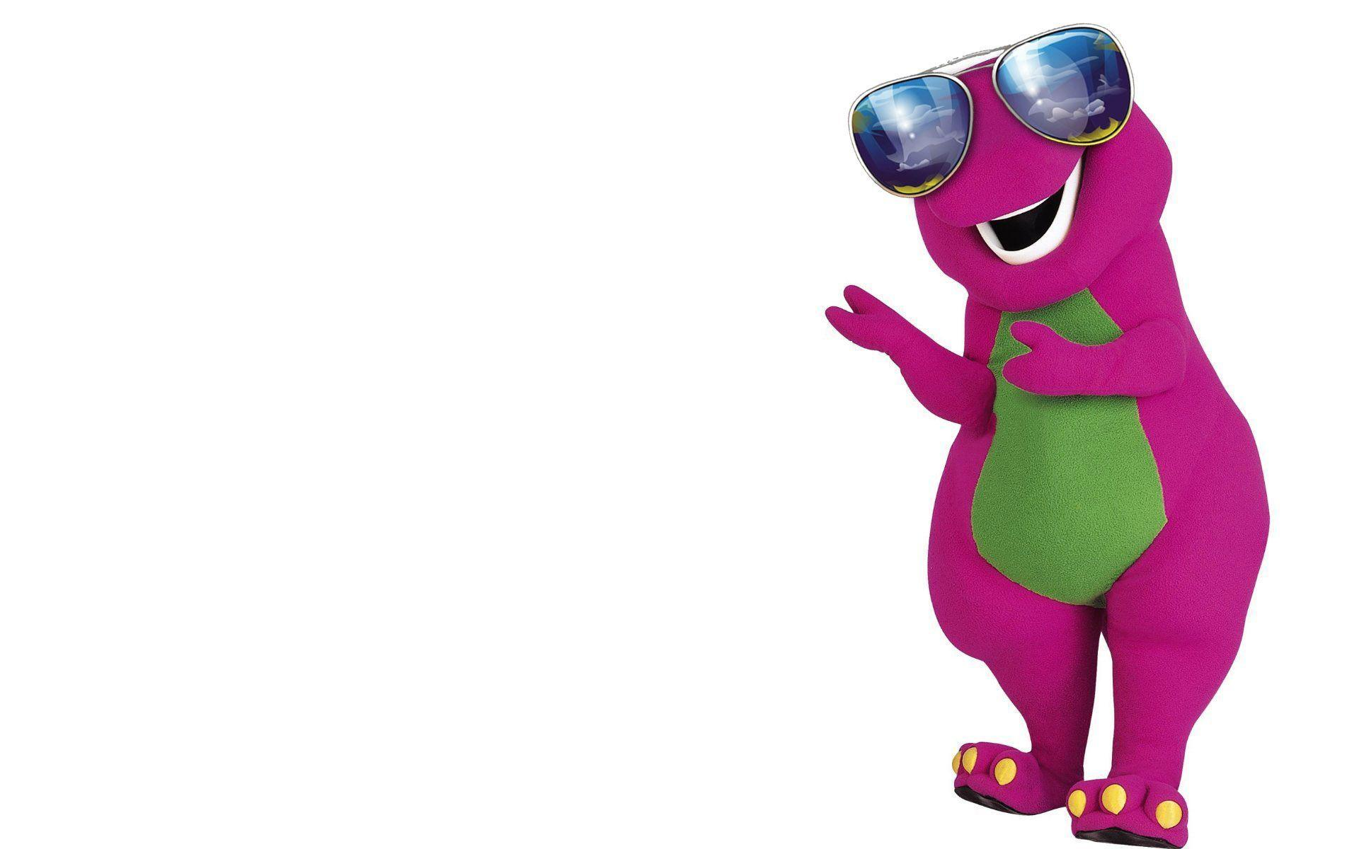 Pix For > Barney Wallpapers