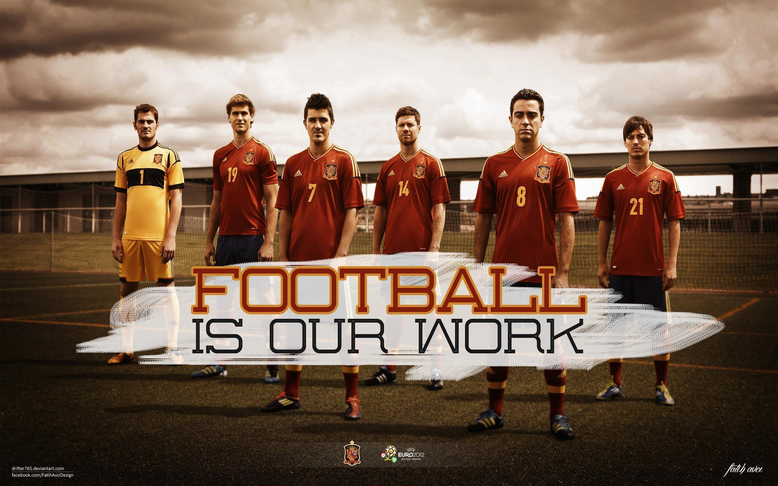 Spain National Team Wallpaper 2015