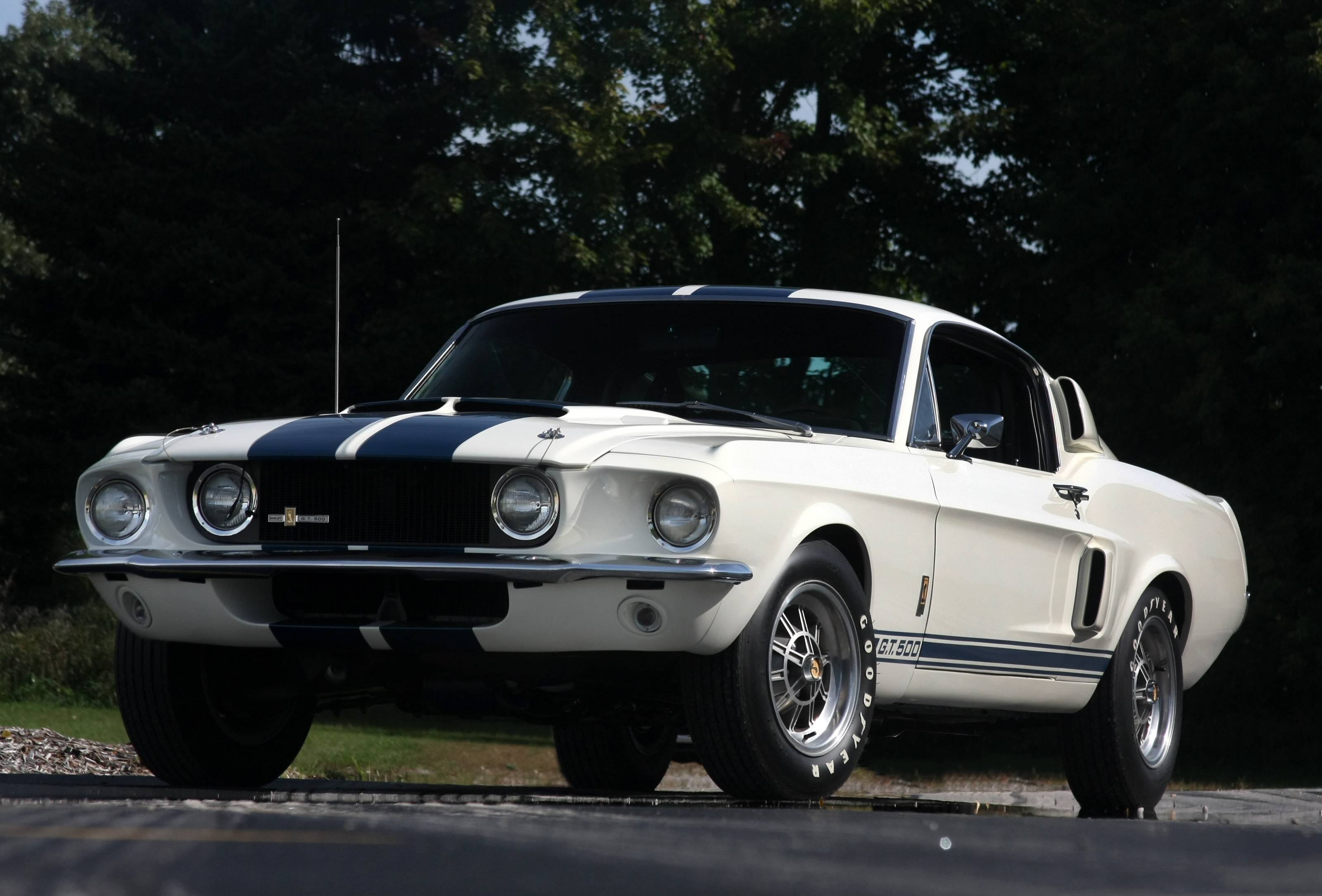1967 Shelby GT500 & 2010 Shelby GT500 Patriot Edition