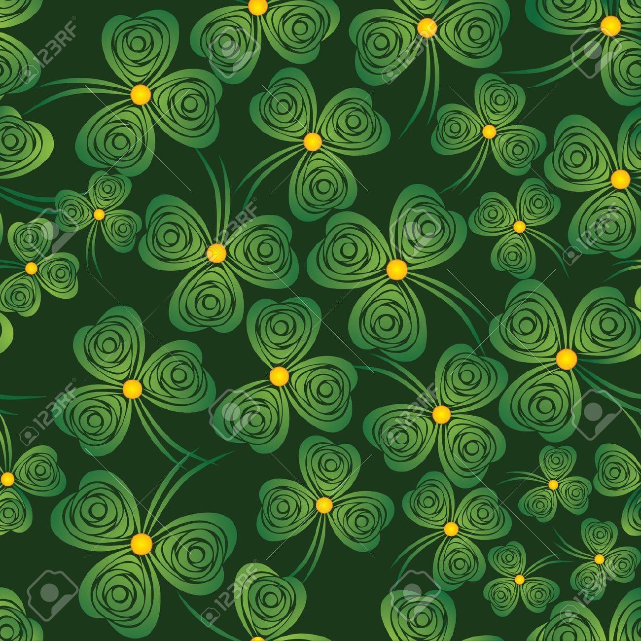 St Patrick Wallpaper: Shamrocks Wallpapers