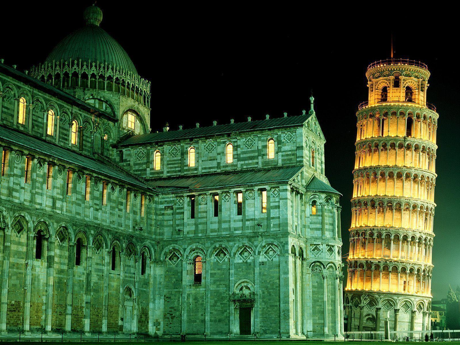 Leaning Tower in Pisa (Italy) / 1600 x 1200 / Locality ...