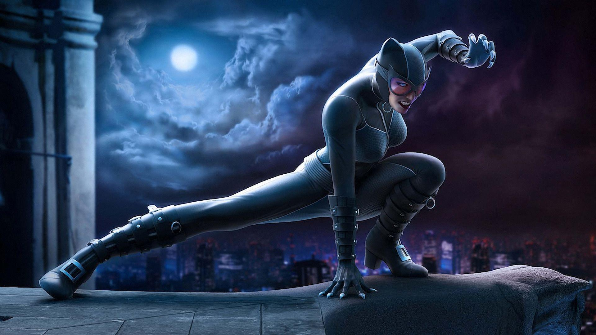 http://www.linomasciulli/cat_woman.html Computer Wallpapers