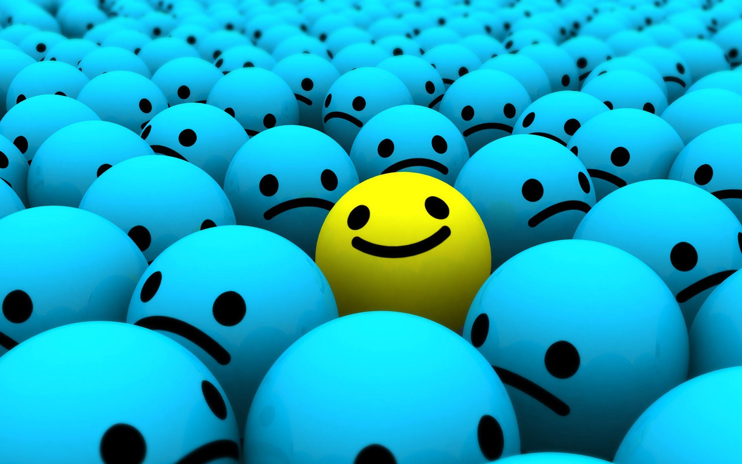 Smiley Face Desktop WallPaper HD