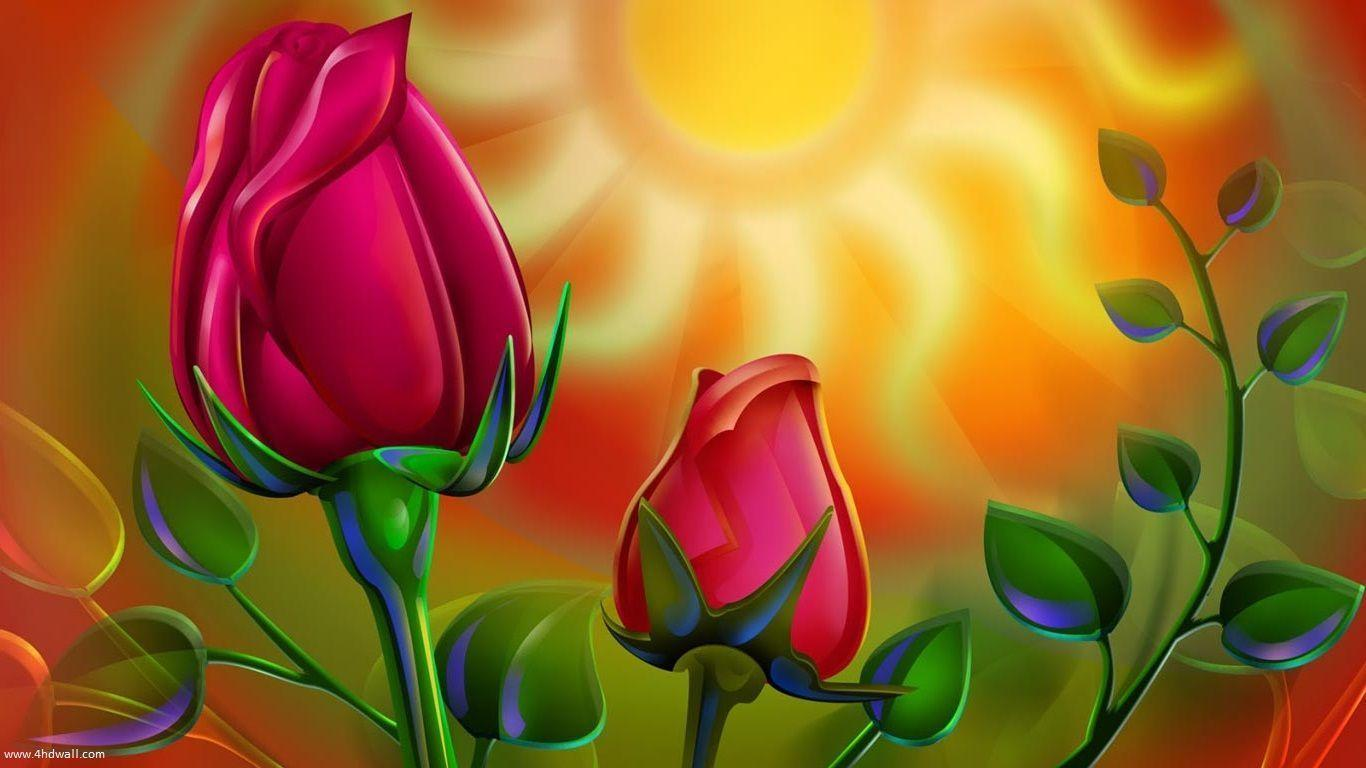Flowers For > Rose Wallpapers Hd For Laptop