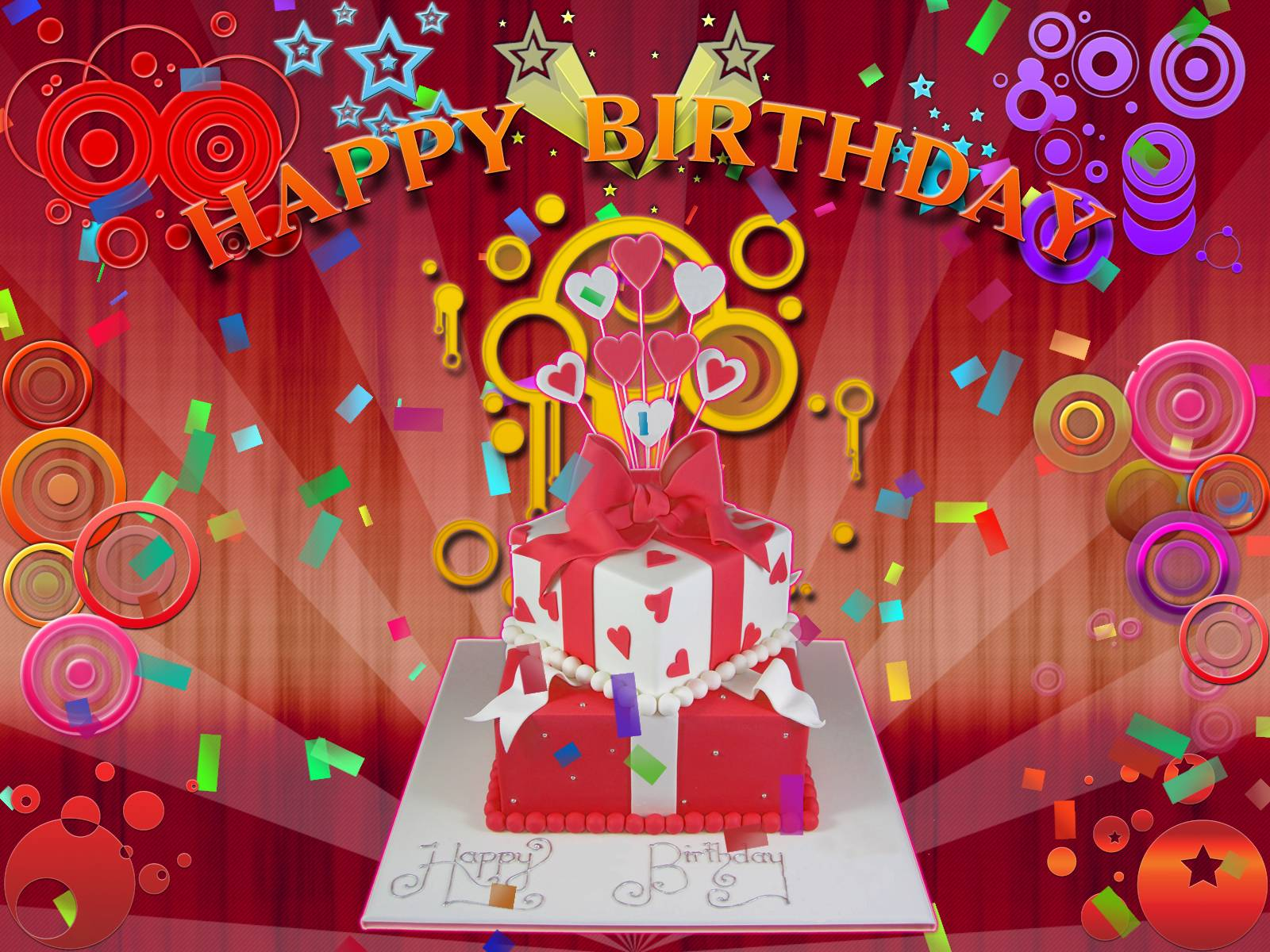 Wallpapers For > Happy Birthday Animated Wallpaper