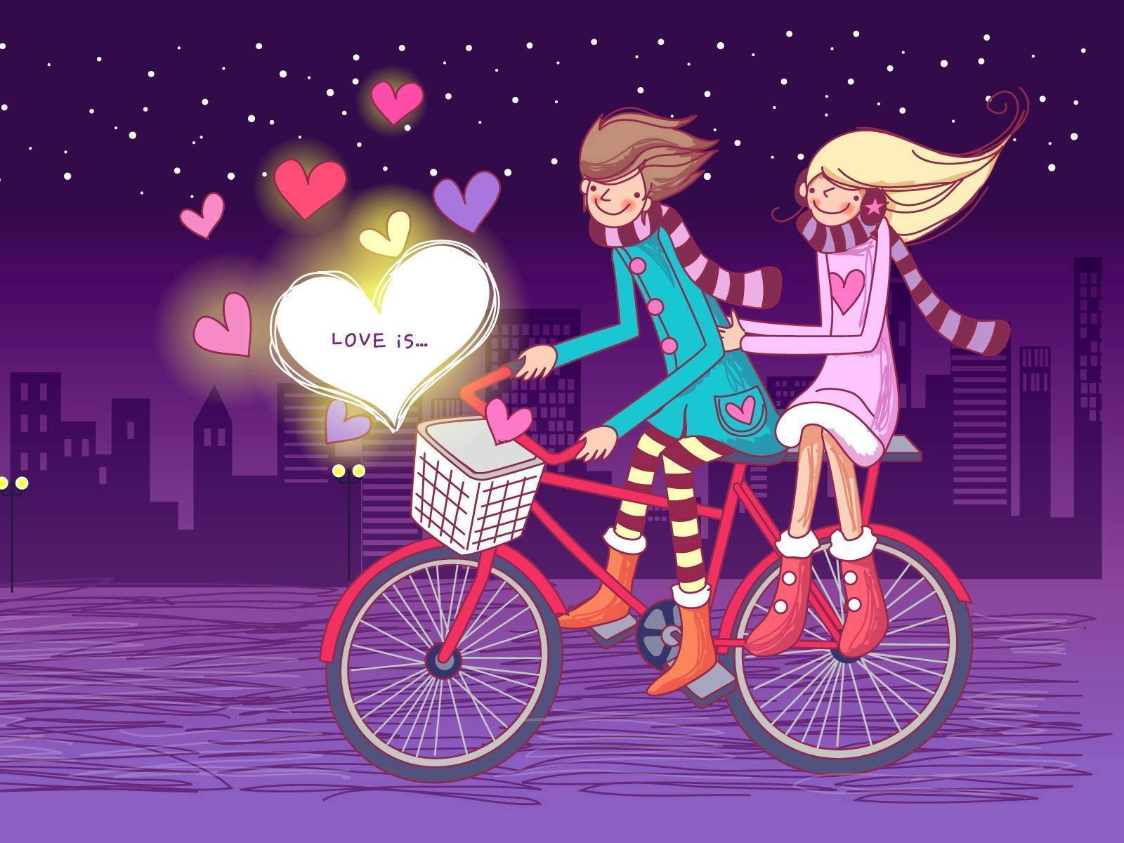 8700 Wallpaper Animasi Romantis Hd HD