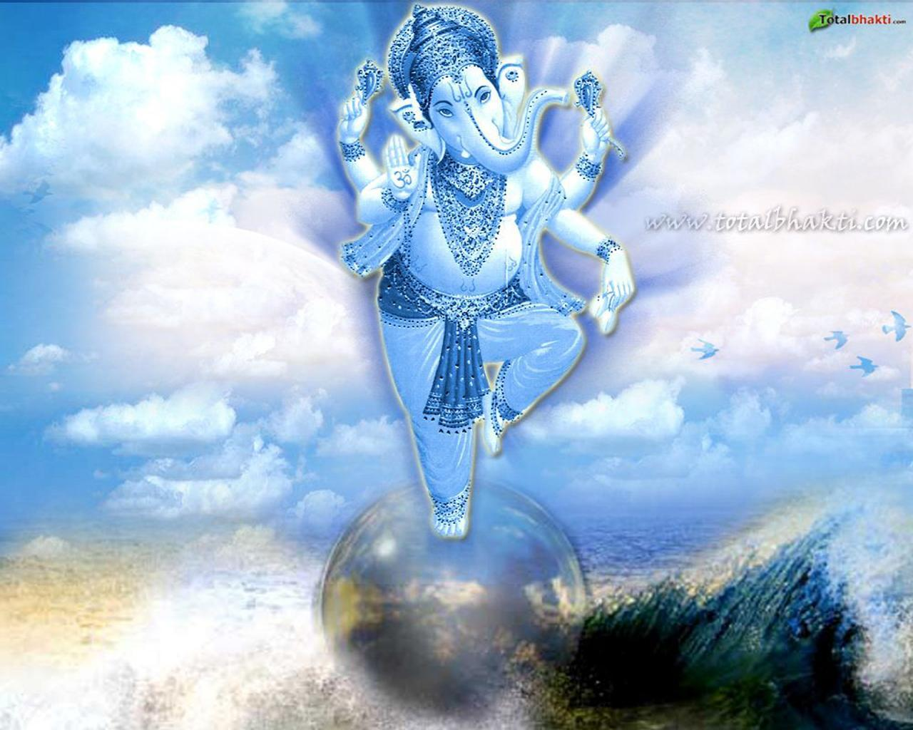 Free Ganesh Wallpaper | Free Wallpapers | Pinterest | Ganesh ...