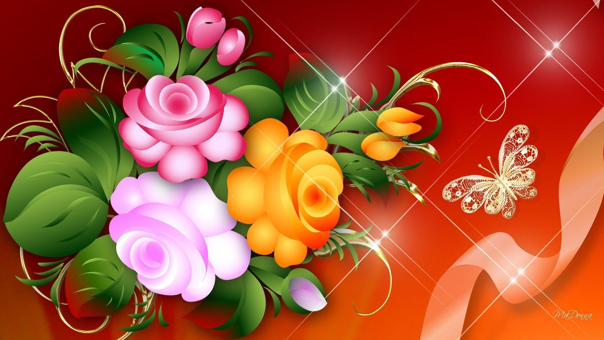 Bright Flower Wallpapers - Wallpaper Cave