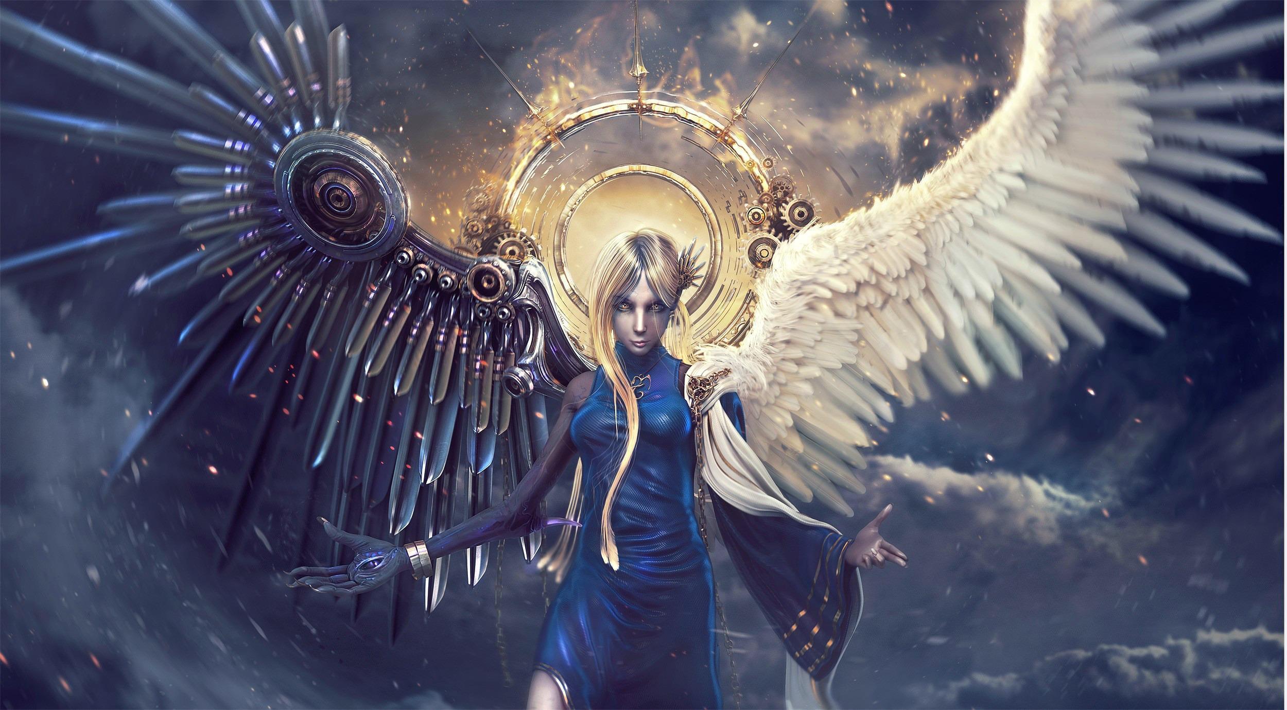 angel devil wings wallpaper - photo #5