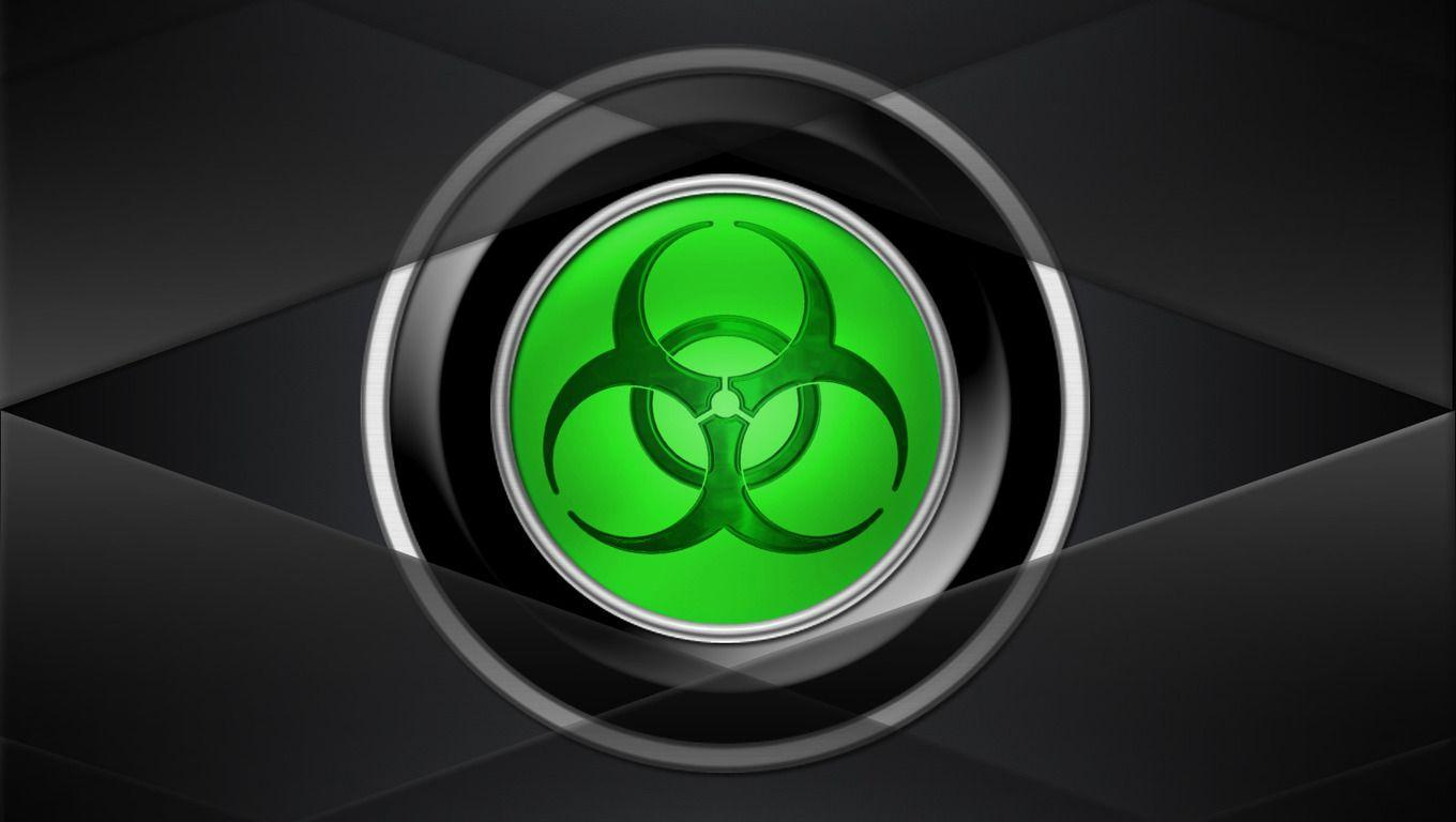 Biohazard Symbol Wallpaper Design Ideas ~ Biohazard Wallpaper ...