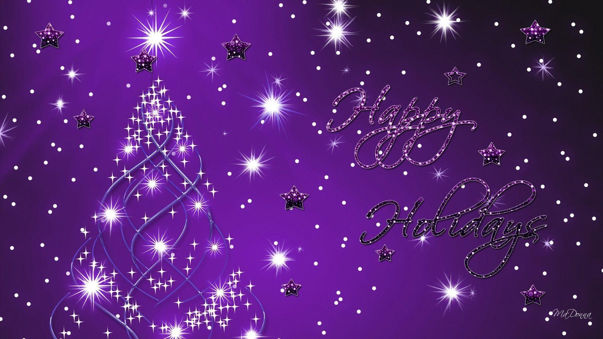 christmas wallpaper with bright - photo #17