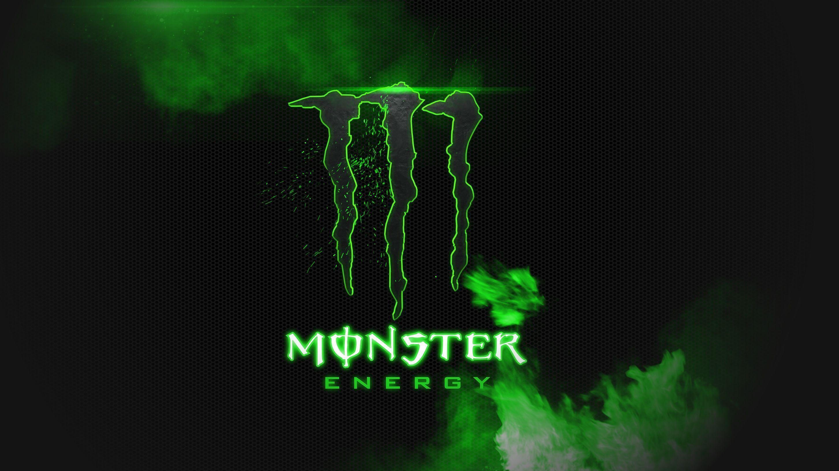 Monster Energy Black And Green HD Wallpaper Background Image ...