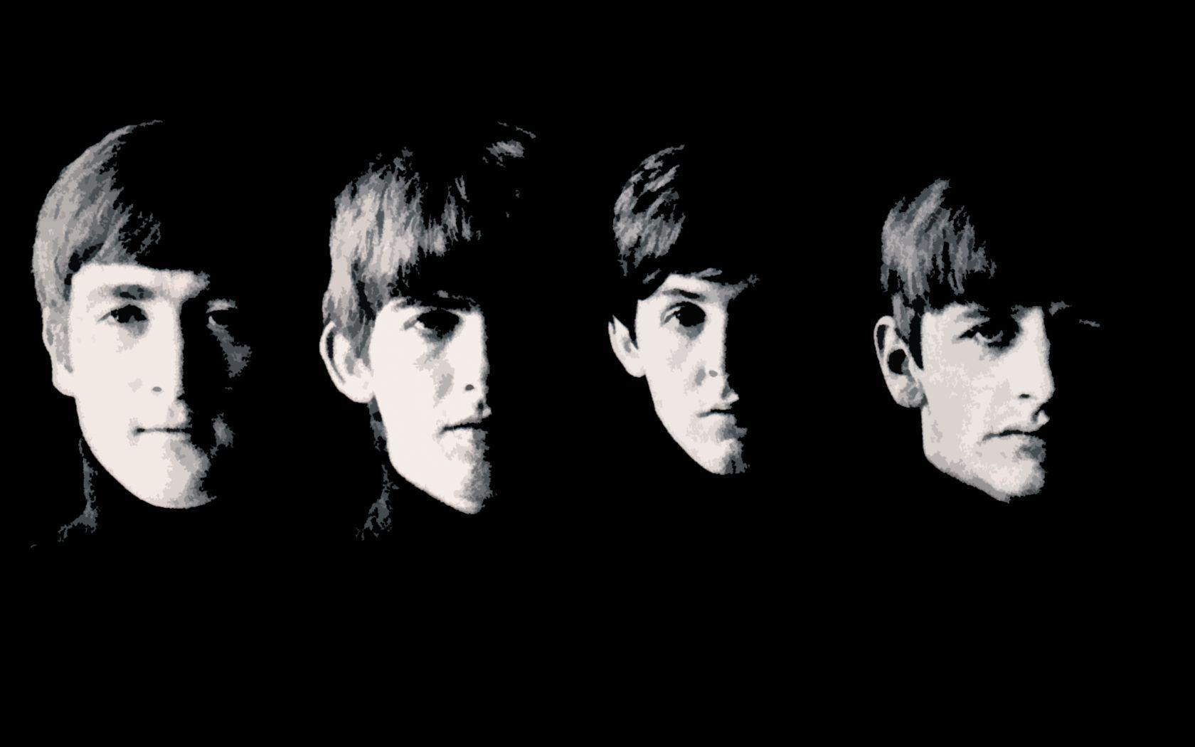 Wallpapers For The Beatles Wallpaper Black And White