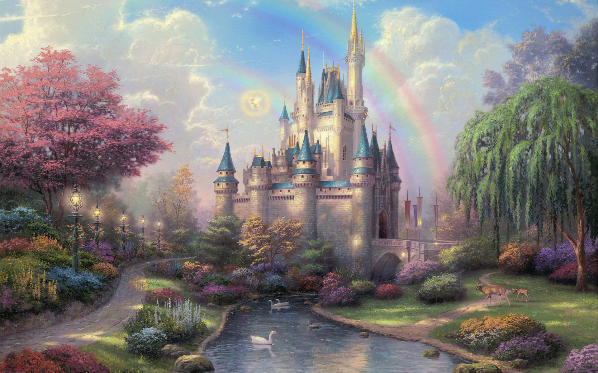 Thomas Kinkade Spirit Of Christmas wallpapers 233107