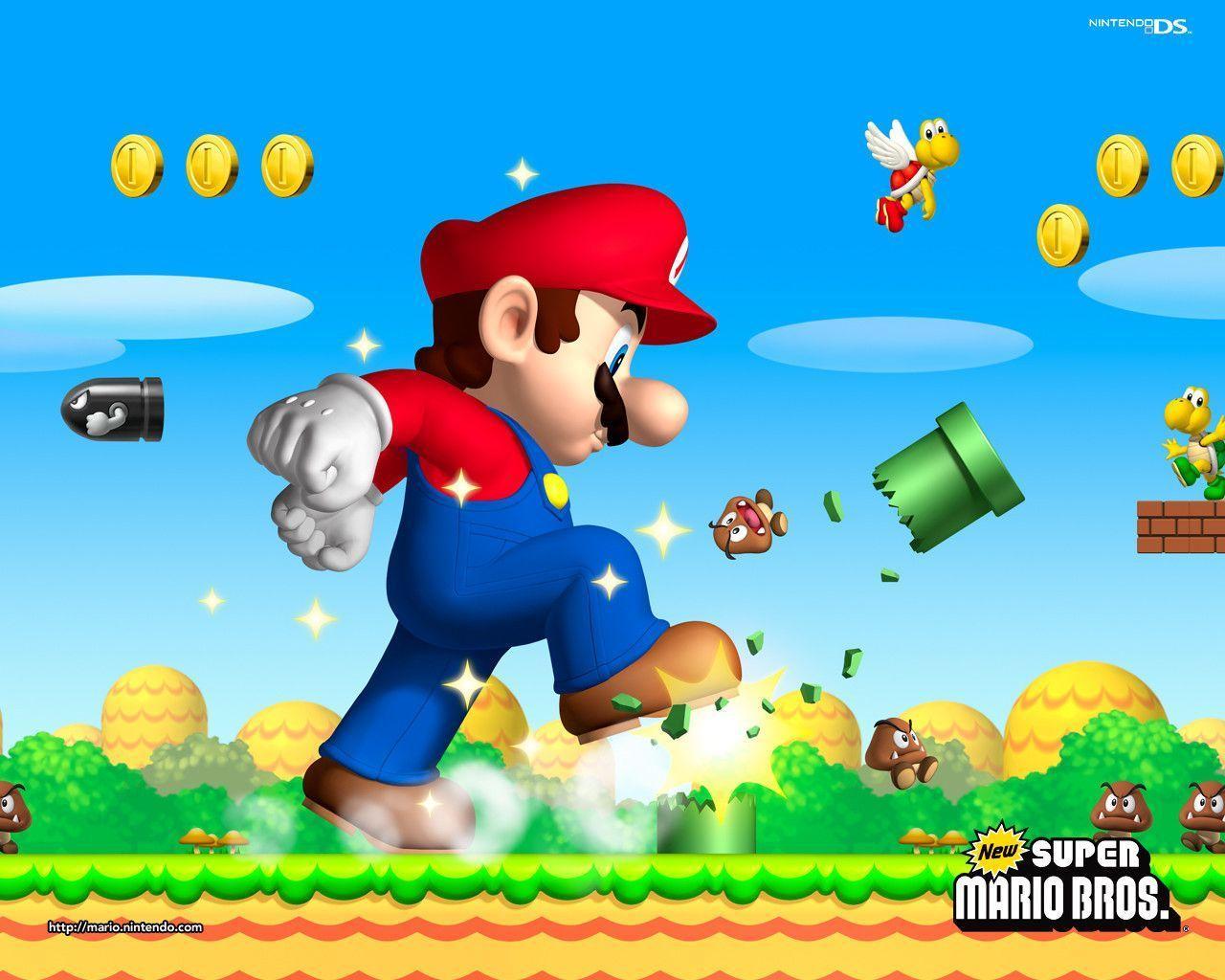 Mario Wallpapers - Download Super Mario Wallpapers