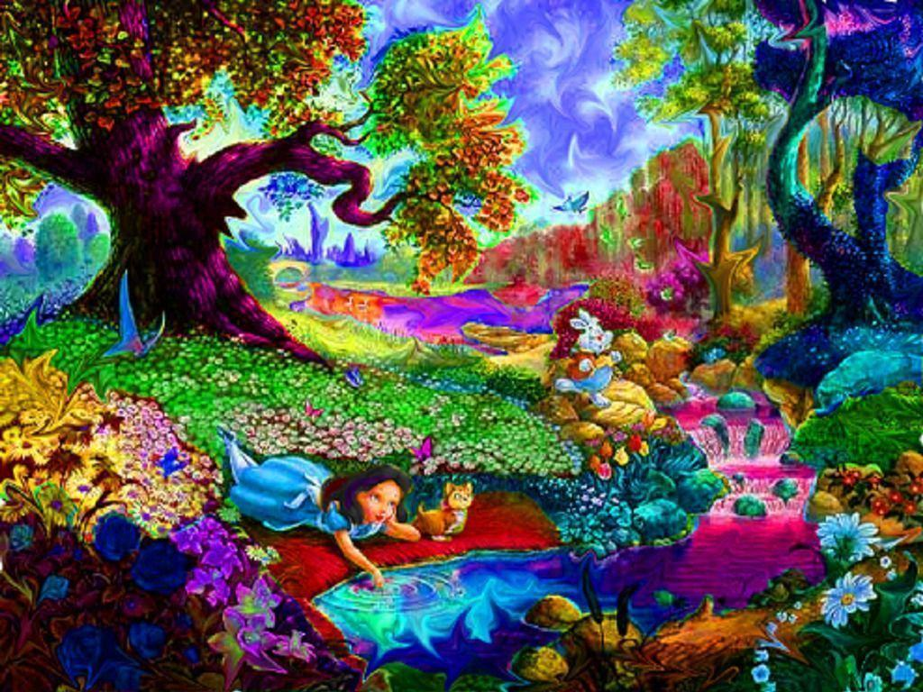 trippy psychedelic hd wallpaper - photo #35