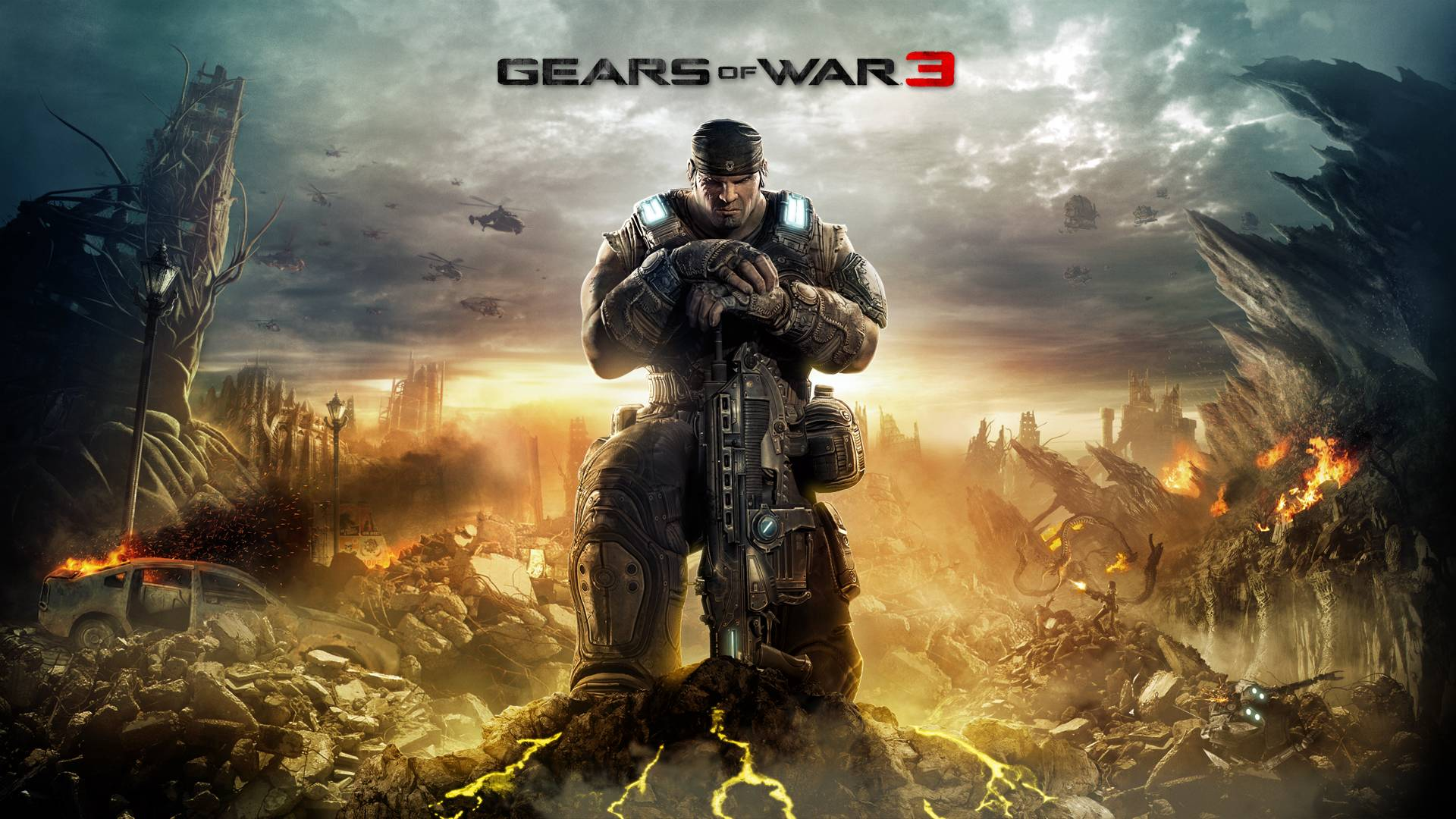 Gears Of War 3 Wallpapers Wallpaper Cave