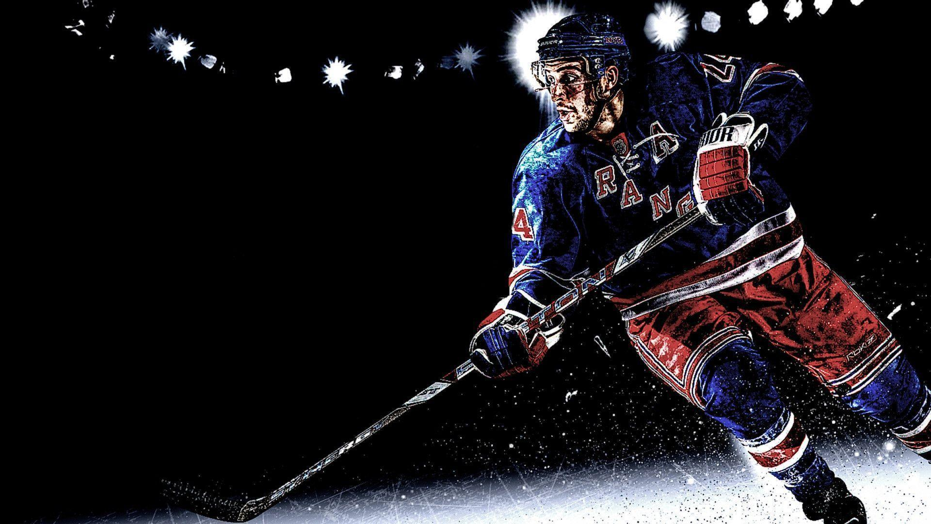 New York Rangers HD Background