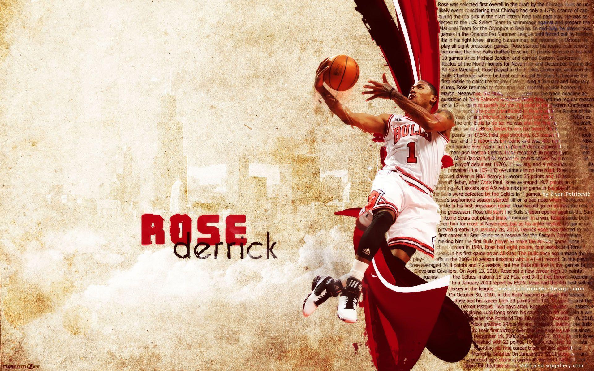 Derrick rose backgrounds wallpaper cave - Derrick rose cool wallpaper ...