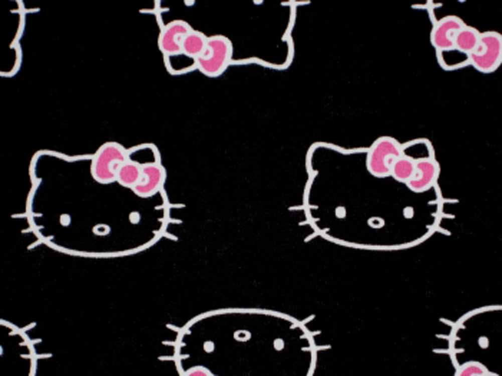 Hello Kitty Black Backgrounds - Wallpaper Cave