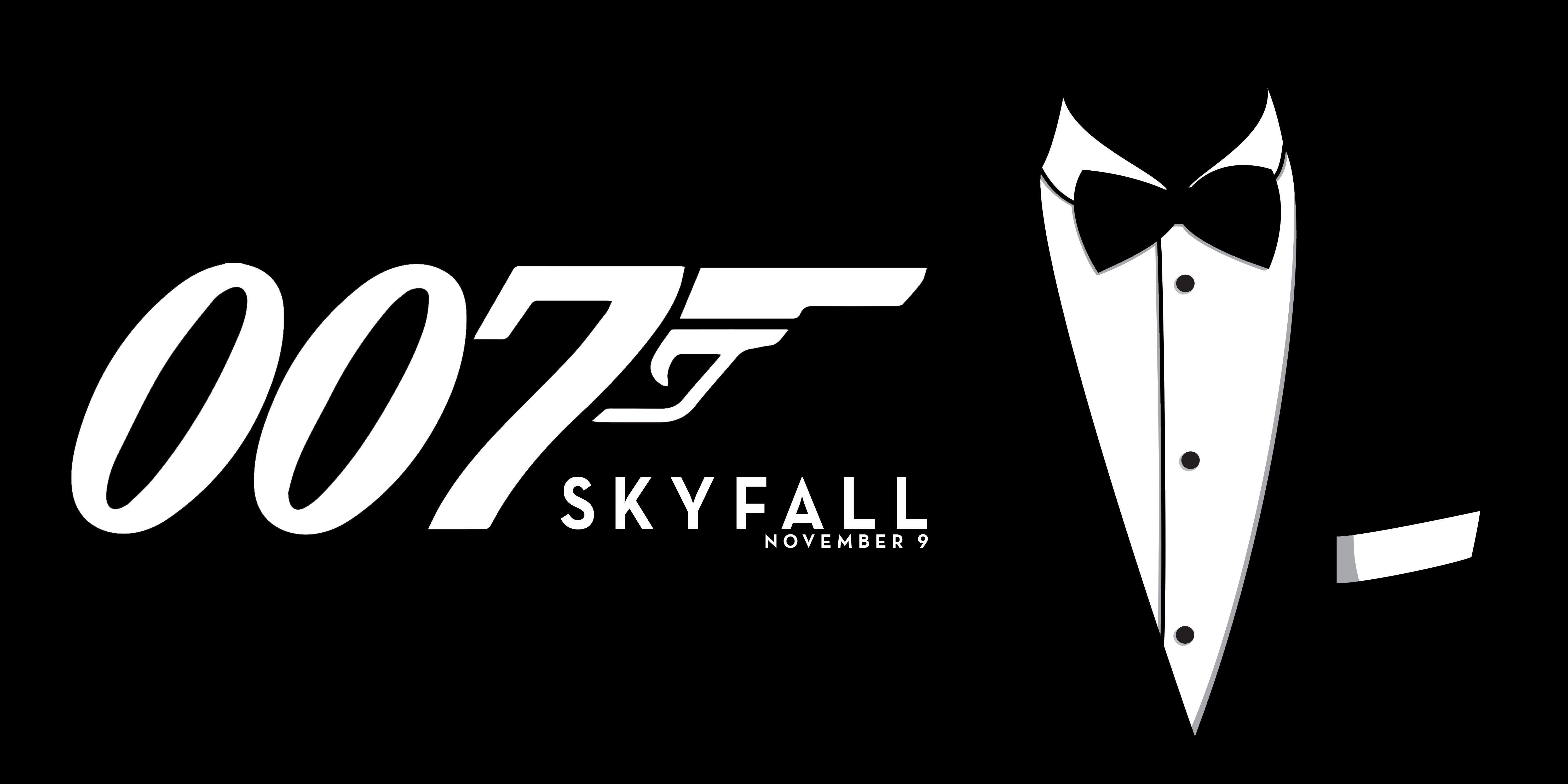 James Bond Skyfall Logo Wallpapers