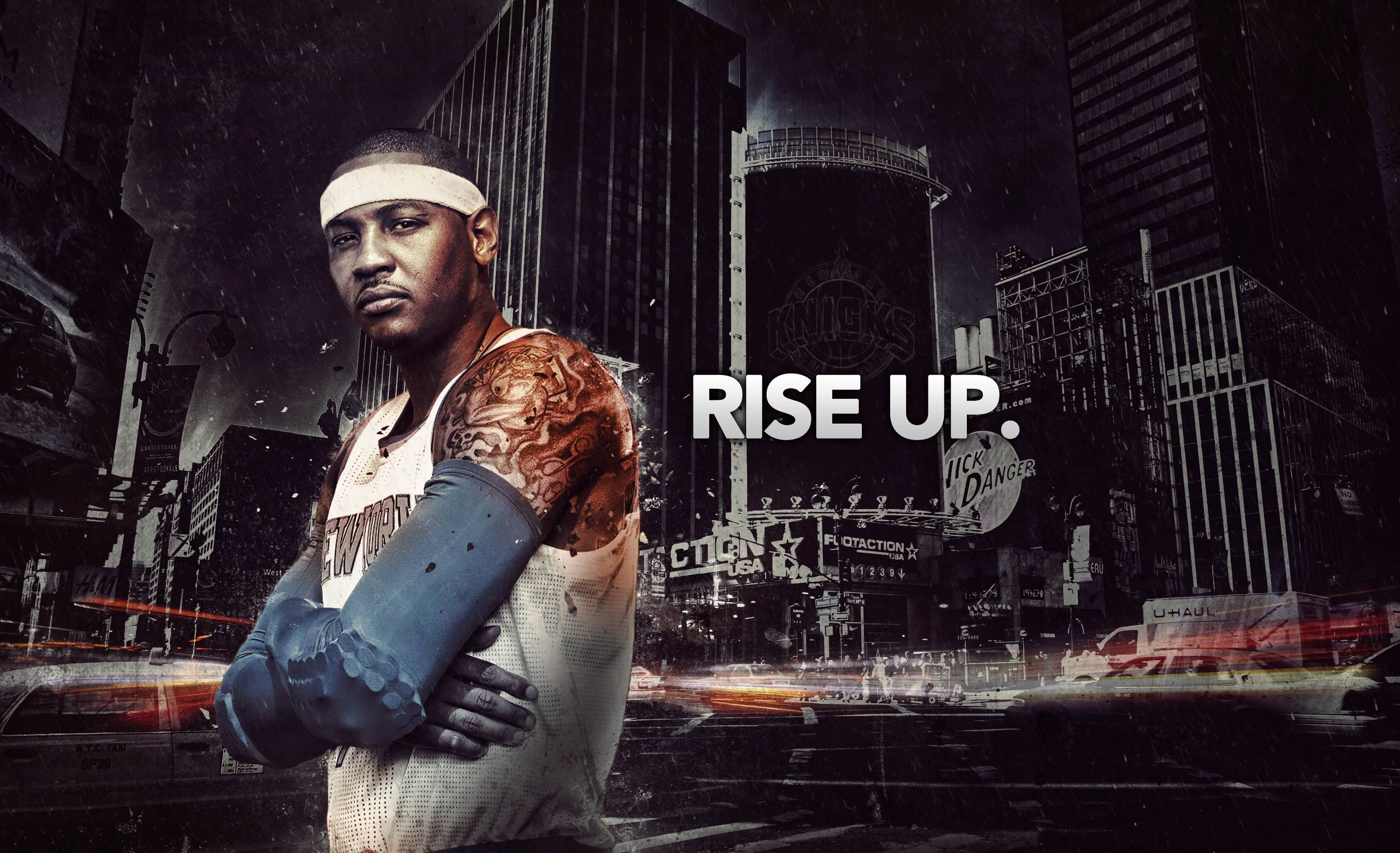 Wallpapers carmelo anthony, carmelo anthony, new york, new york