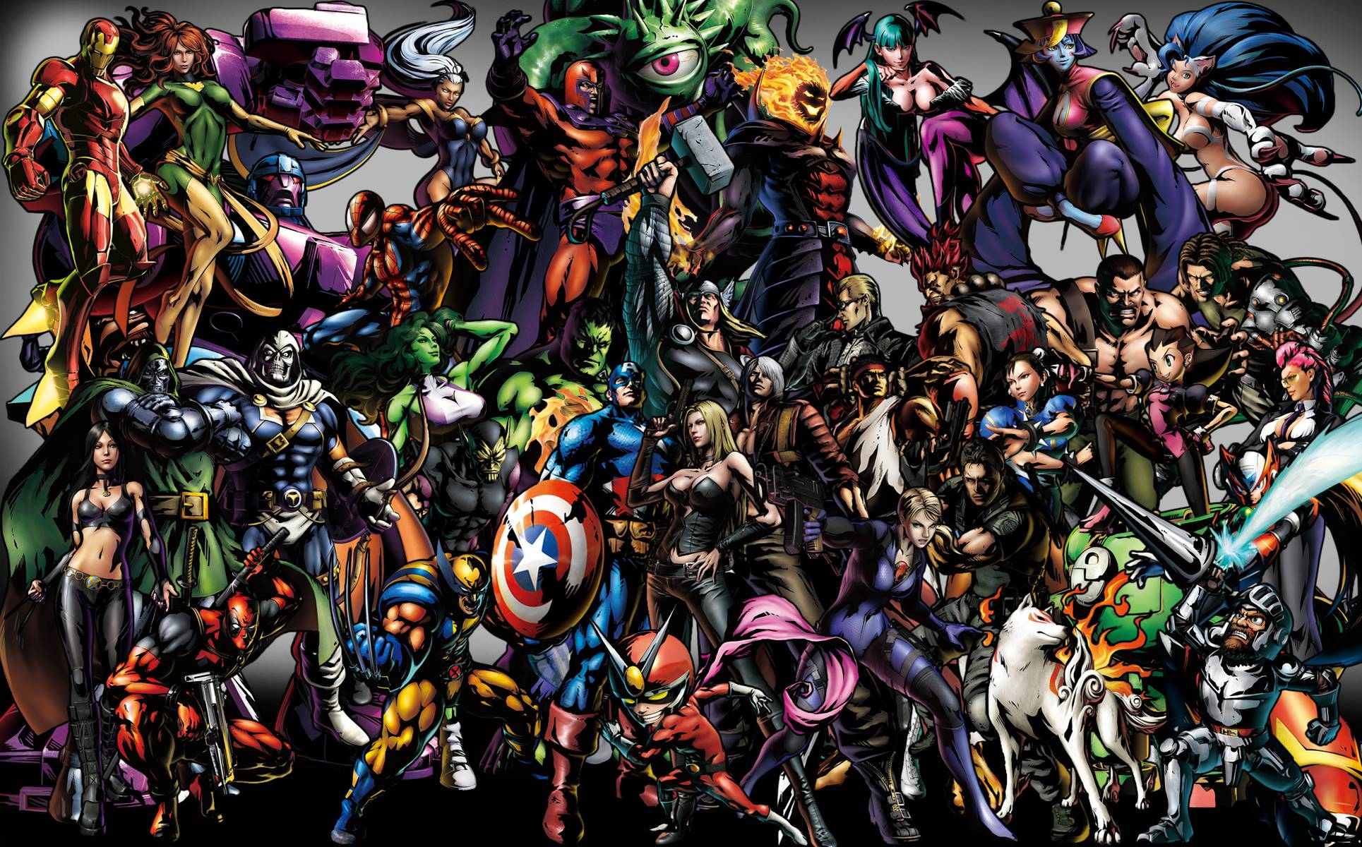 marvel vs capcom 3 art Wallpapers Download Logo And Photo Cookies