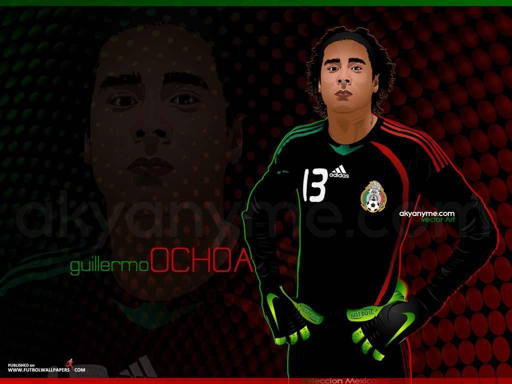 Mexico soccer wallpapers wallpaper cave - Guillermo ochoa wallpaper ...