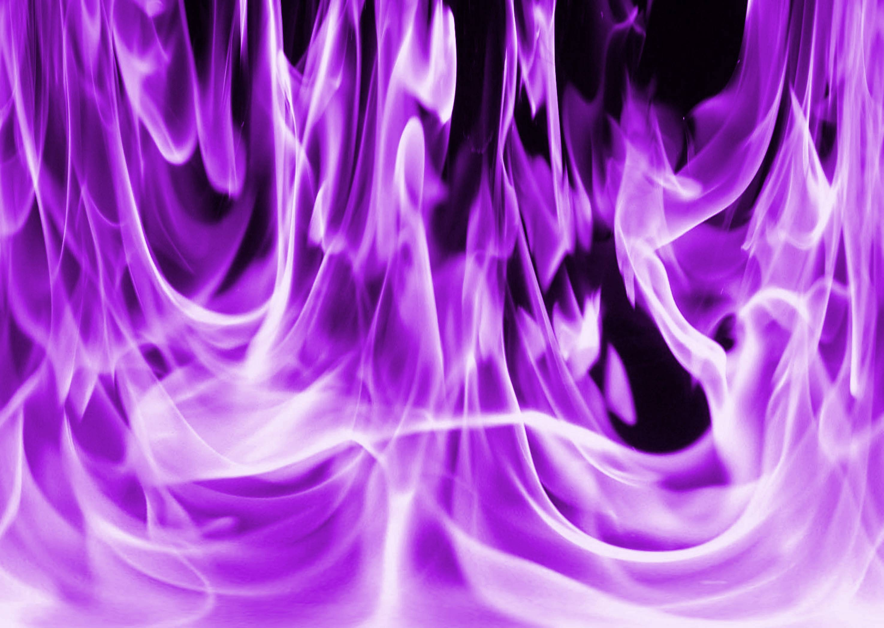 Image Gallery purple fire