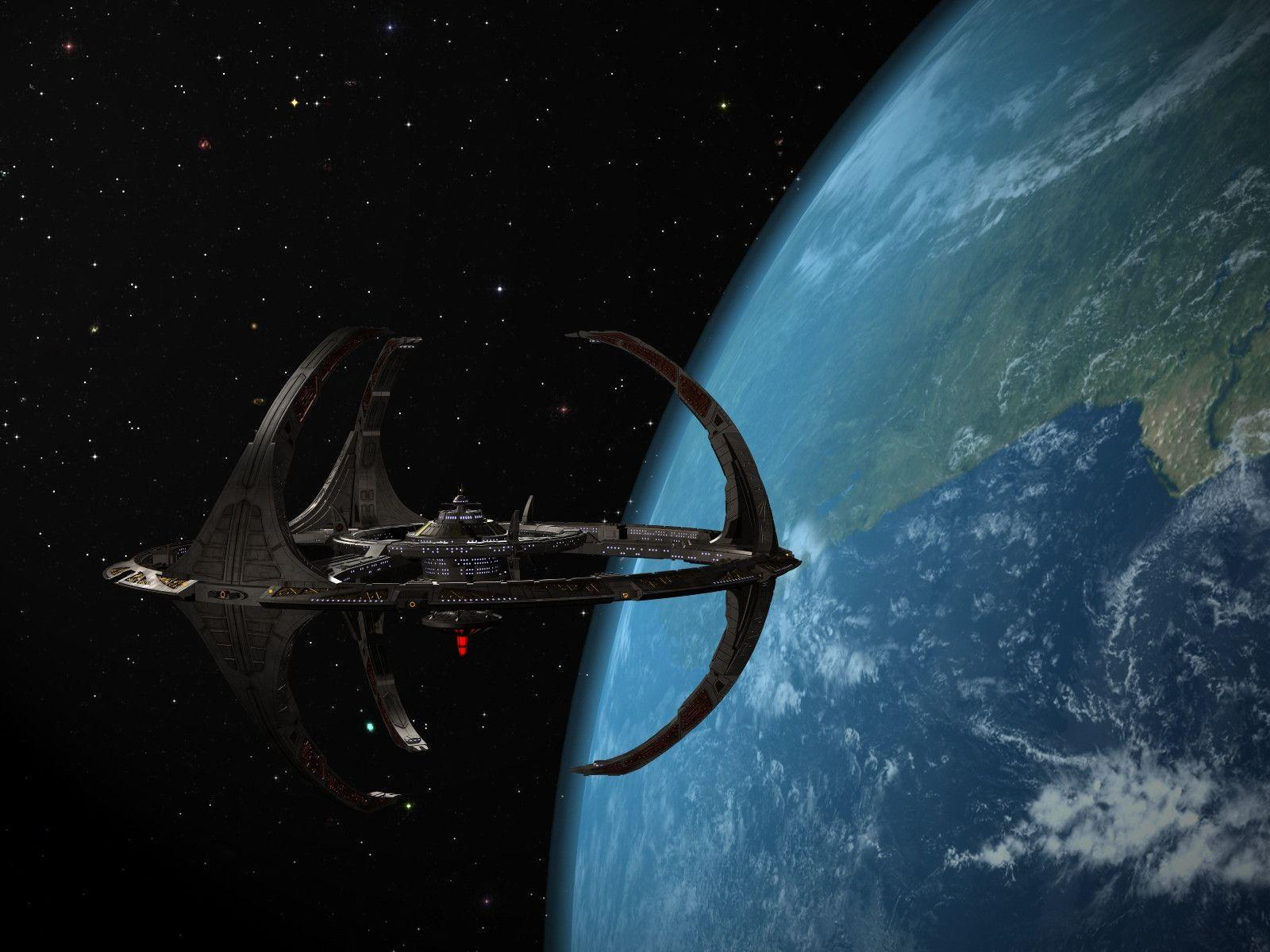 the new ds9 space station - photo #25