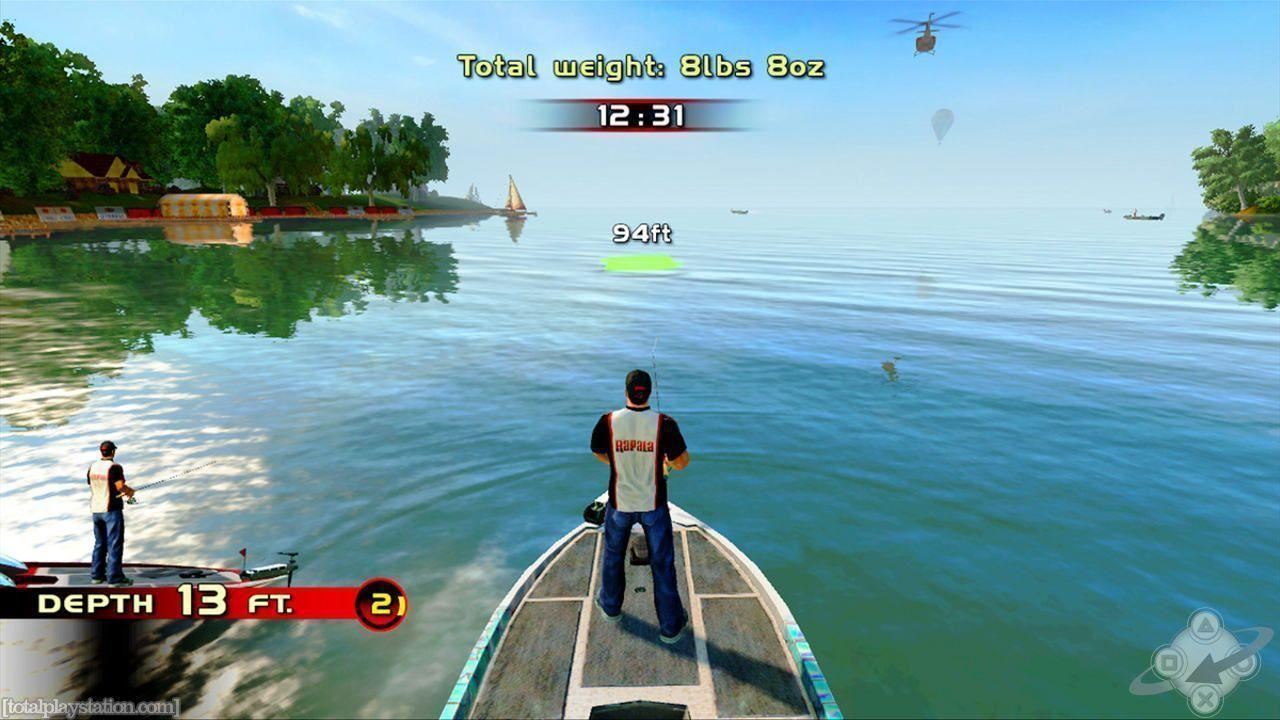Fishing Rapala Pro Bass Playstation Wallpapers For Desktop, HQ ...