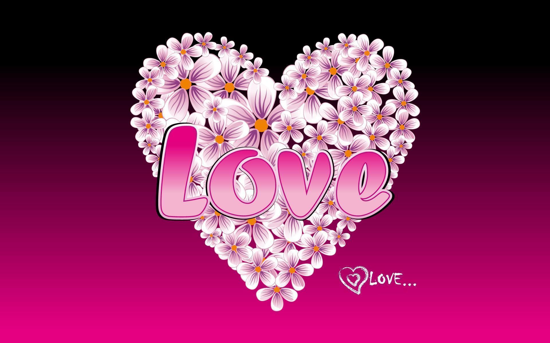 Metal Heart Wallpaper Pink Rose Simi 276 Full HD