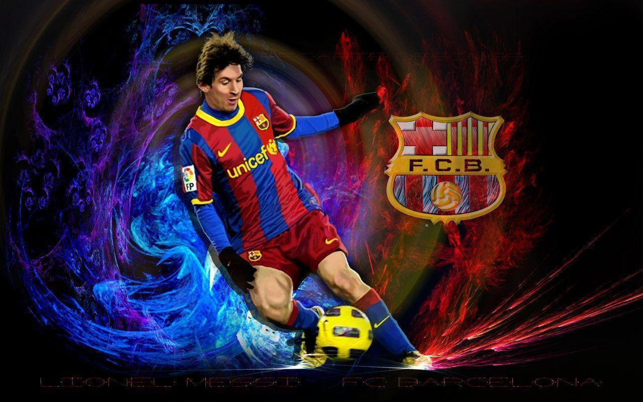 10+ Lionel Messi HD Wallpapers 2014