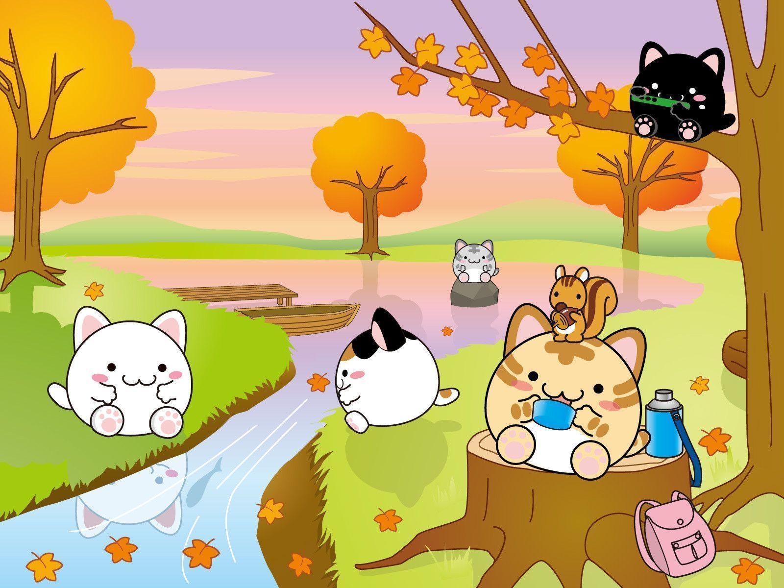 hello kitty fall wallpaper - photo #32