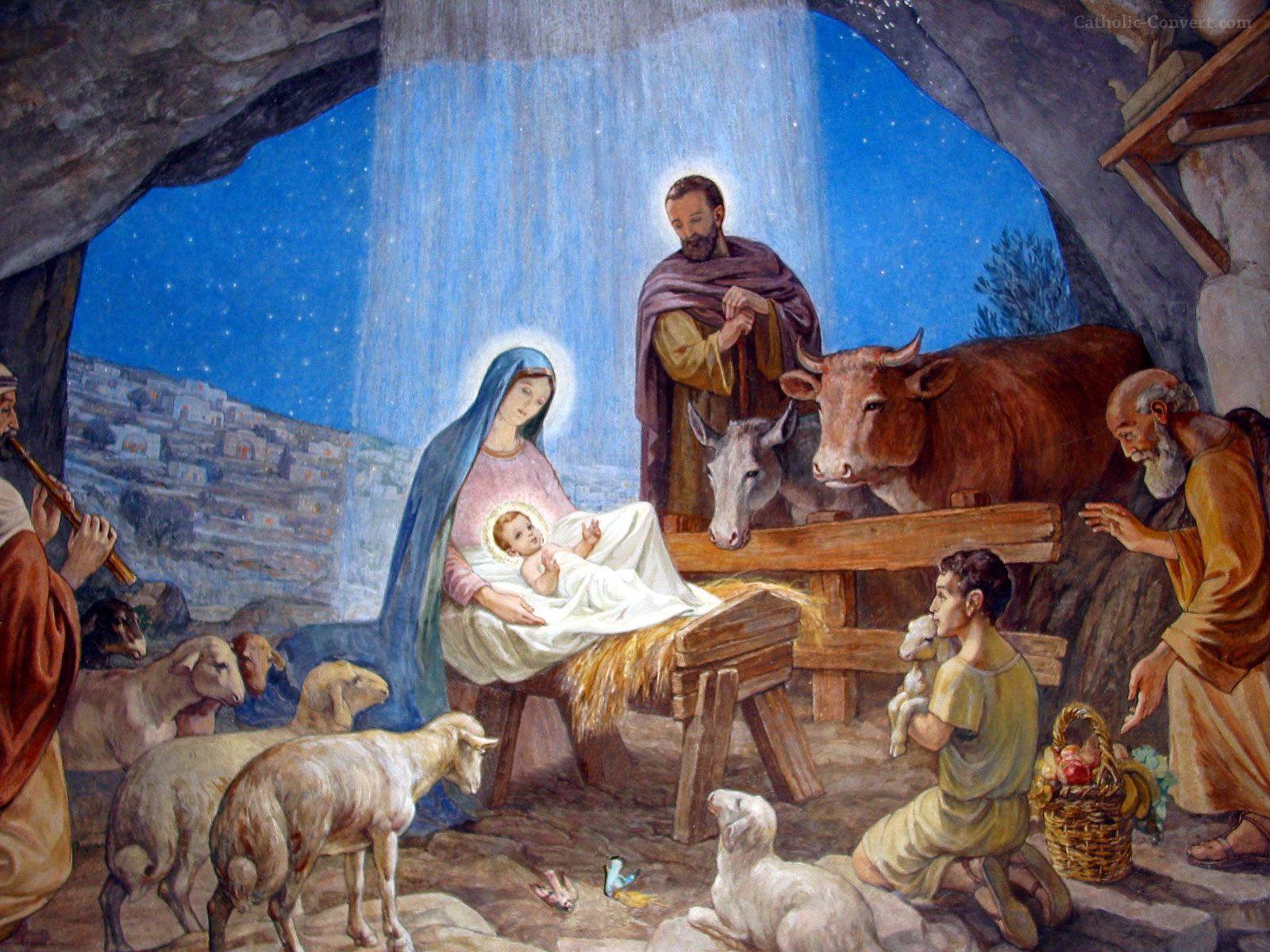 Wallpapers For > Nativity Backgrounds Desktop