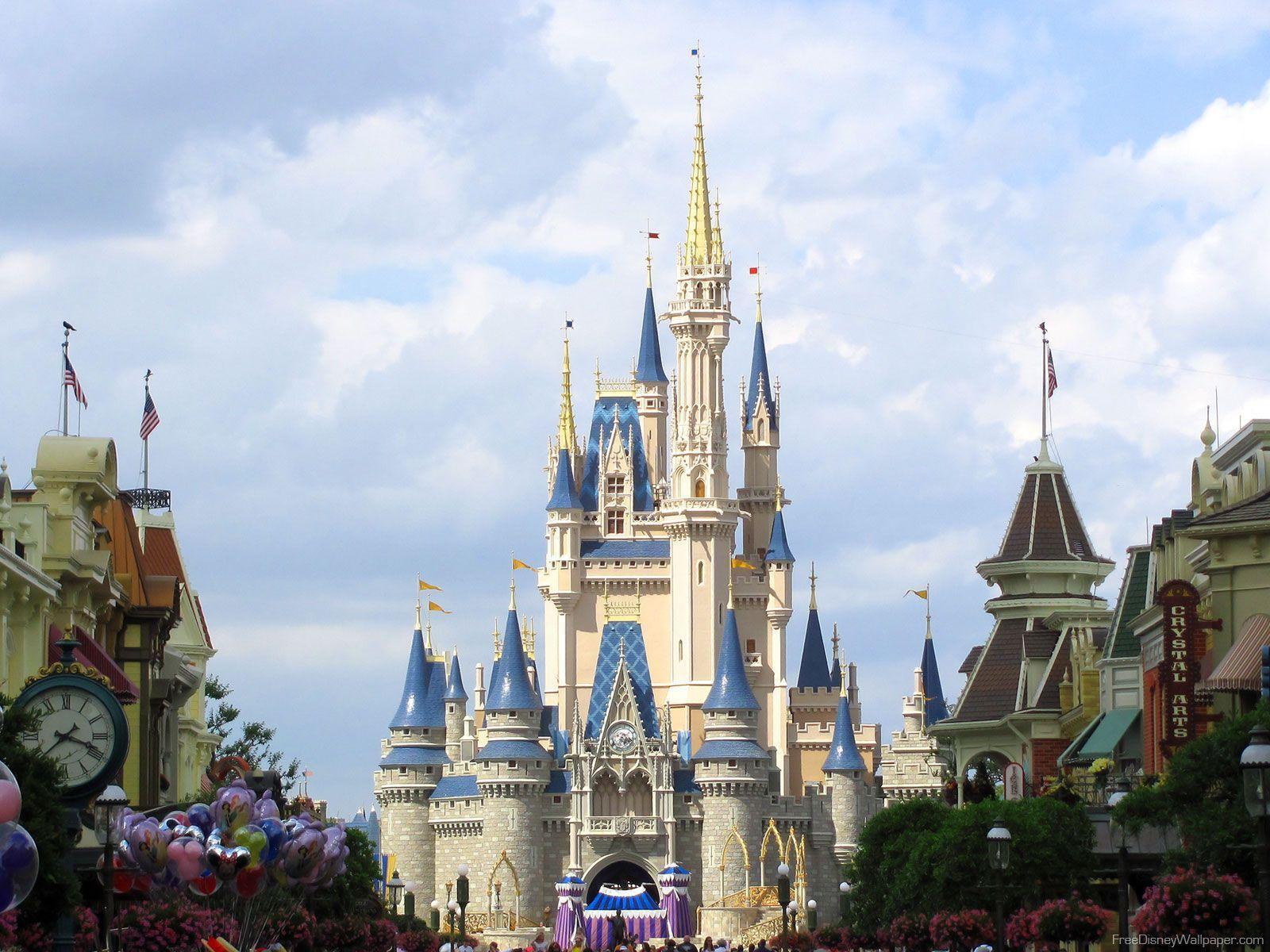 High Resolution Disney Wallpaper: Disney Castle Backgrounds