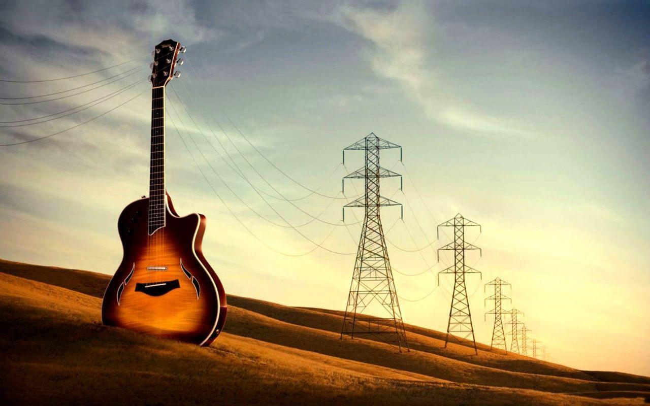 guitar wallpaper widescreen - photo #5