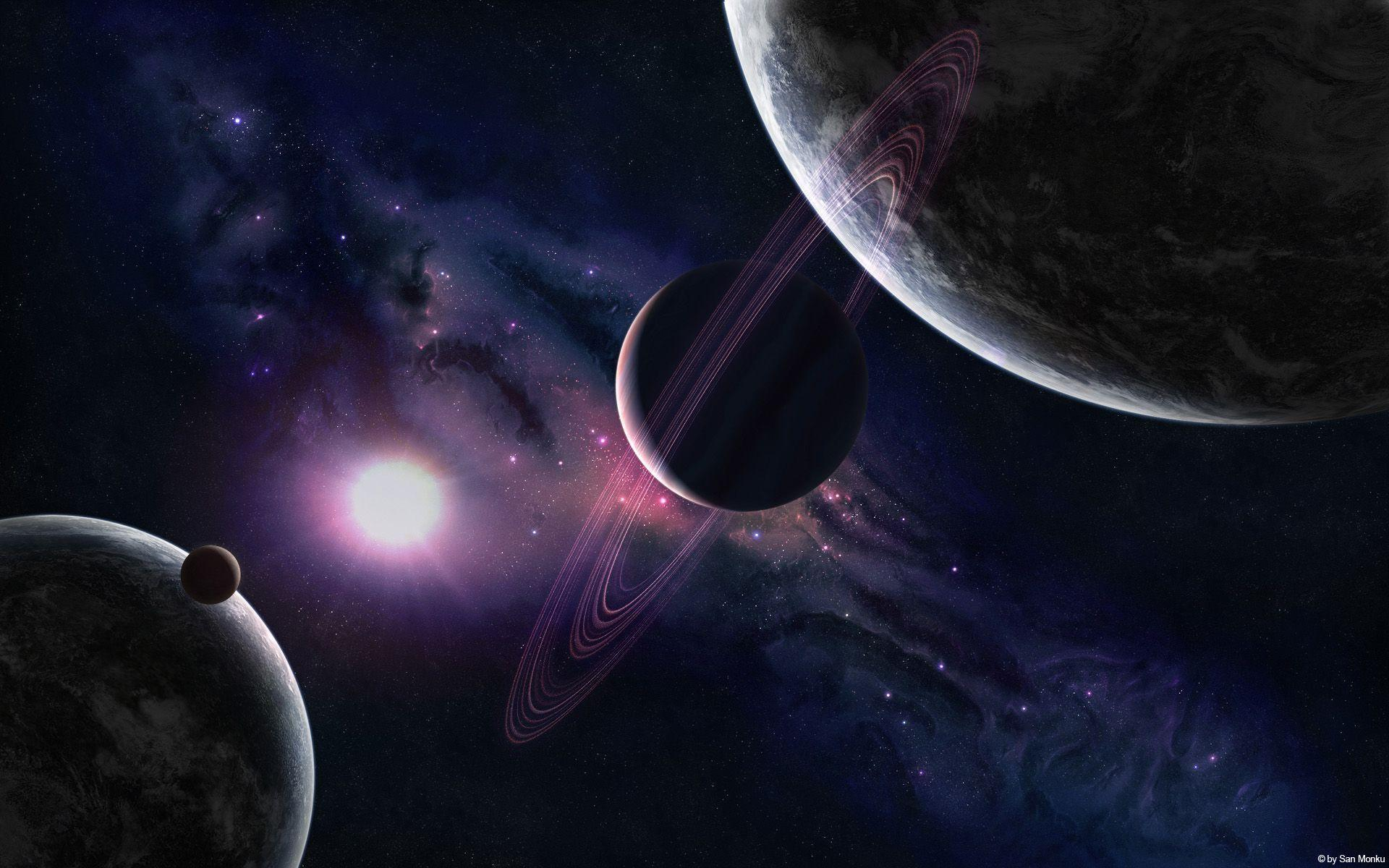 Space Planets 8 Cool Wallpapers HD | HD Image Wallpaper