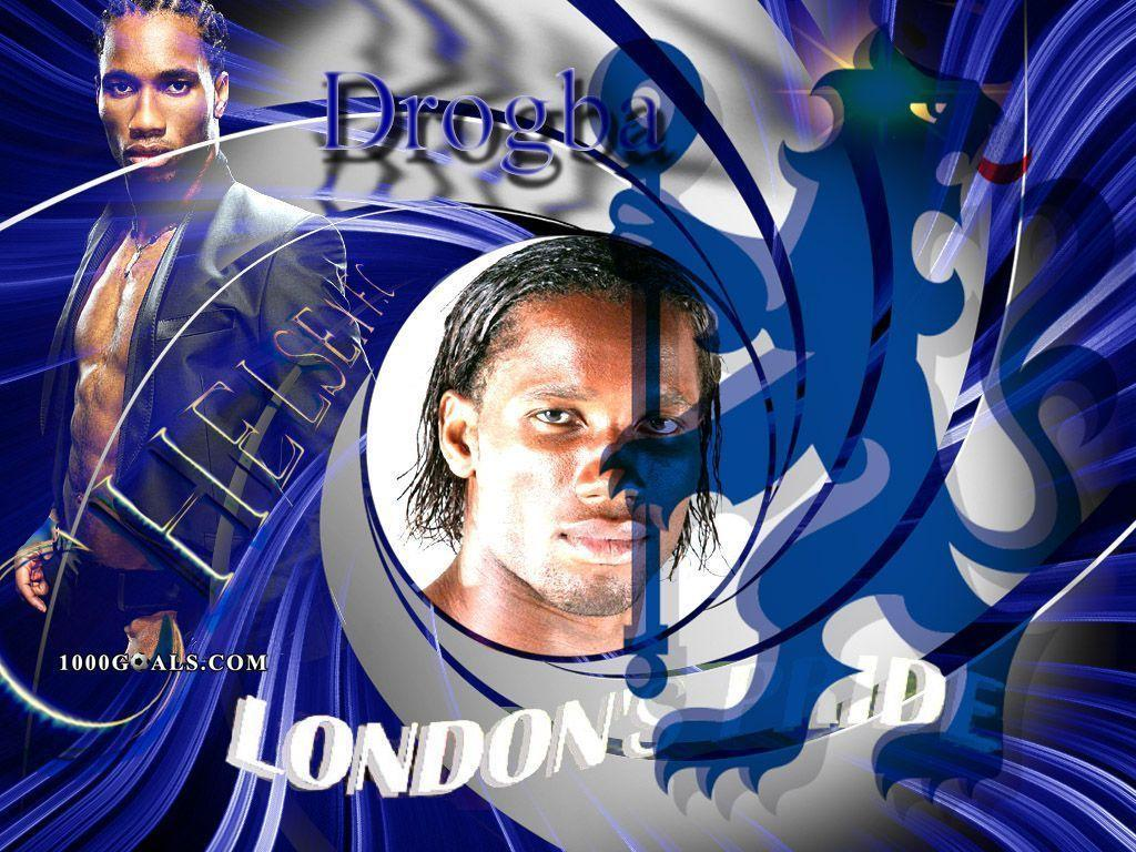 Pfizer Wallpapers: Drogba Chelsea Wallpapers
