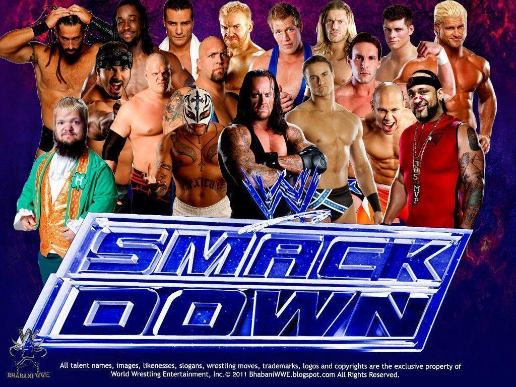 wwe smack downs