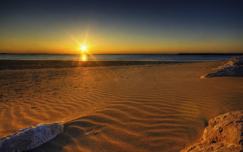Beautiful Beach Sunrise Photography Wallpaper 14351