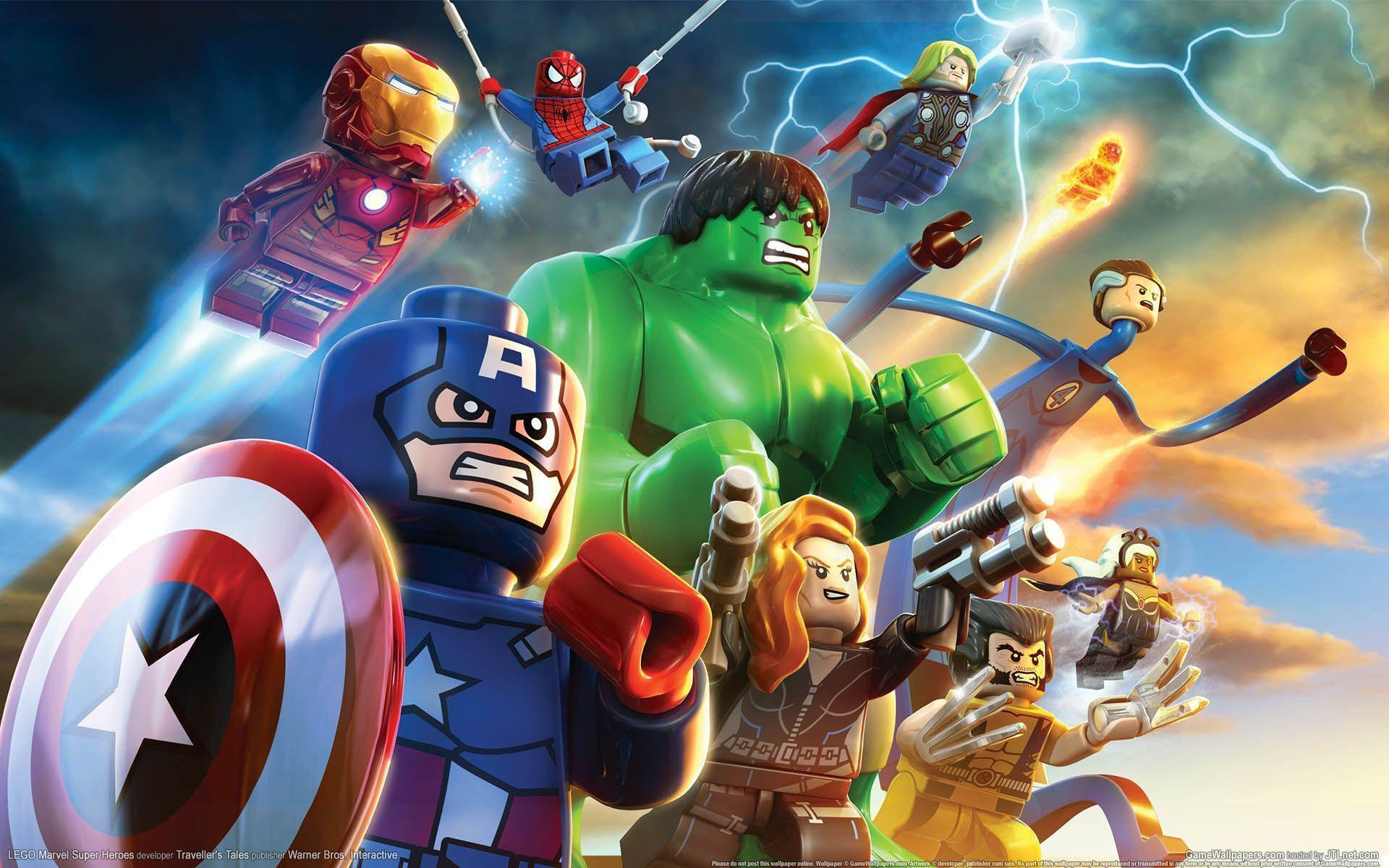 Lego Marvel Super Heroes Game HD Wallpaper