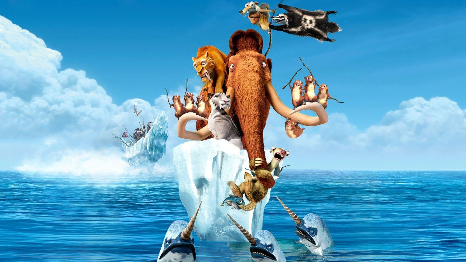 ice age 4 continentalDrift MOVIE 1080p HD Wallpapers , Free
